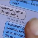 """Un SMS coquin dans """"C dans l'air""""."""