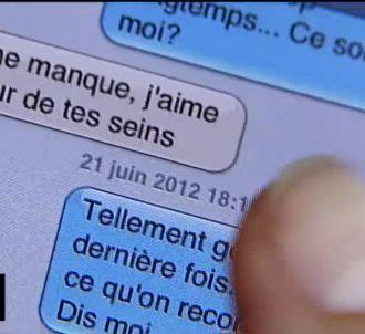 Un SMS coquin dans 'C dans l'air'.