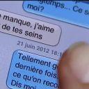 """Le SMS diffusé dans un sujet de """"C dans l'air"""" sur France 5."""