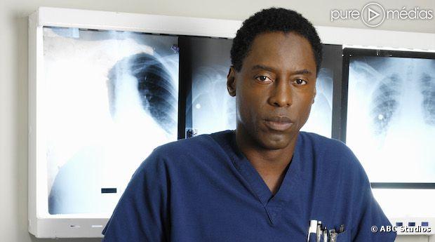 """Isaiah Washington, le Docteur Preston Burke, de retour dans """"Grey's Anatomy"""""""