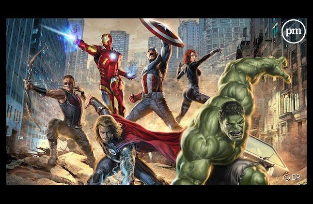 """""""Avengers"""", film de super-héros le plus lucratif de l'histoire"""