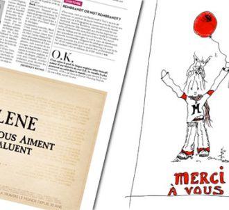 Mylène Farmer remercie ses fans dans 'Libération'