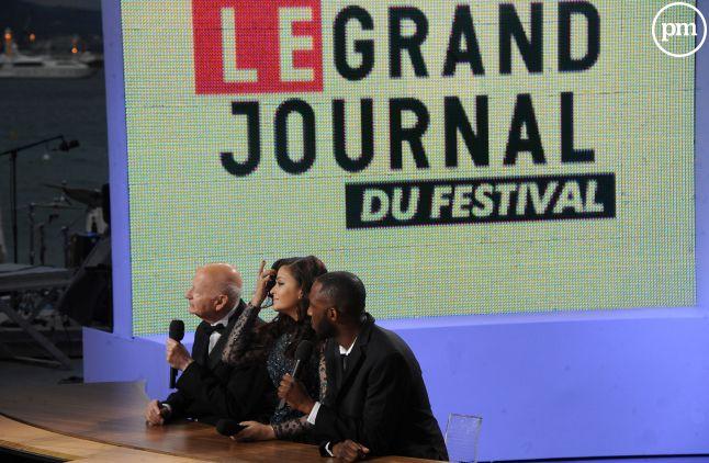 """""""Le Grand Journal"""" de Cannes, en 2012."""