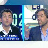 Débat houleux entre Thomas Sotto et Aymeric Caron sur les