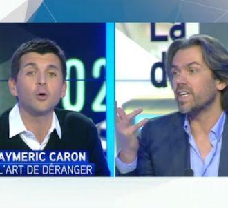 Débat houleux entre Aymeric Caron et Thomas Sotto sur...