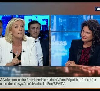 Marine Le Pen sur BFMTV.