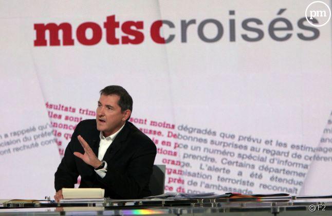 """""""Mots Croisés"""", sur France 2 depuis 1997."""