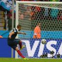 Karim Benzema lors du match France-Honduras hier soir