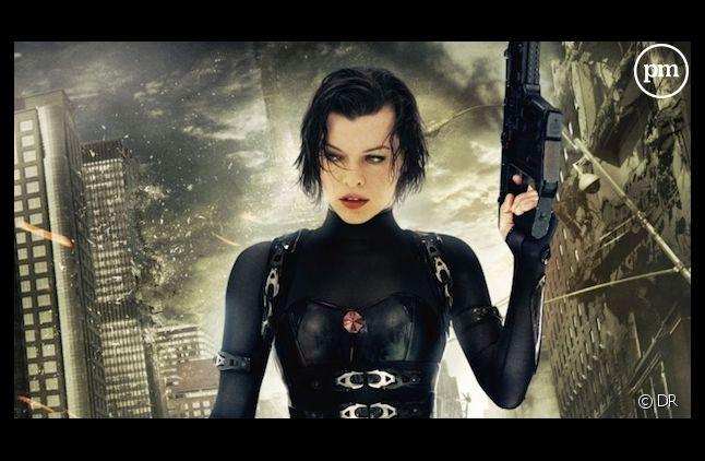 """Milla Jovovich dans """"Resident Evil"""", dont le sixième volet sera le dernier"""