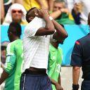 Paul Pogba, pendant France/Nigeria, le 30 juin 2014.