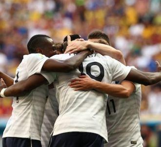 Les Bleus ravis après leur voctoire contre le Nigeria, le...