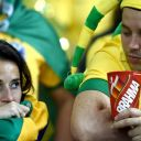 Les Brésiliens ont été terrassés par l'équipe d'Allemagne (7-1)