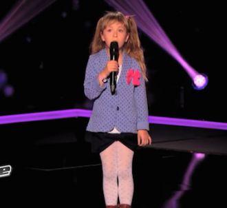 La petite Gloria a séduit les coachs de 'The Voice Kids'