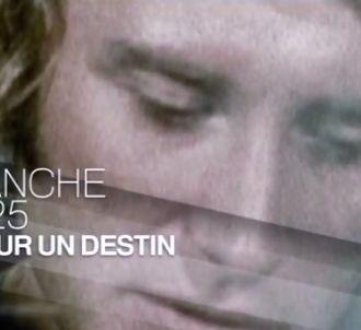 Johnny Hallyday dans 'Un jour, un destin' sur France 2.