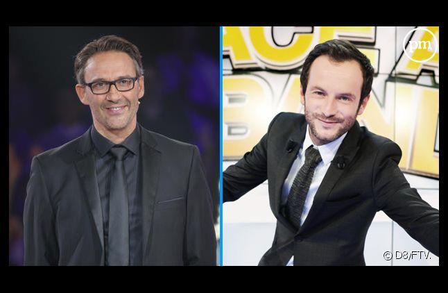 Julien Courbet et Jérémy Michalak.