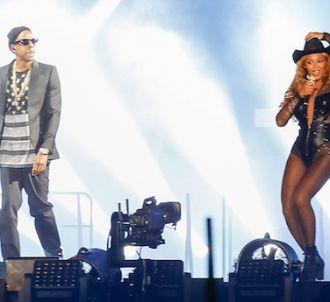 Beyonce et Jay Z dans le 'On the run tour'.