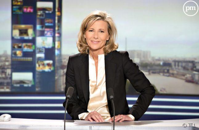 Claire Chazal, à la tête du 20 heures de TF1 depuis 23 ans.