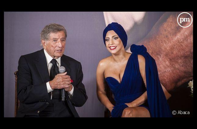 Tony Bennett et Lady Gaga dans le top 10 britannique