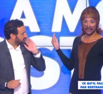 Bertrand Chameroy déguisé en Beyoncé dans 'Touche pas à...