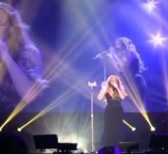 Mariah Carey loupe plusieurs morceaux pour le lancement...