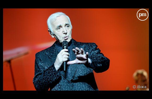 Charles Aznavour hospitalisé
