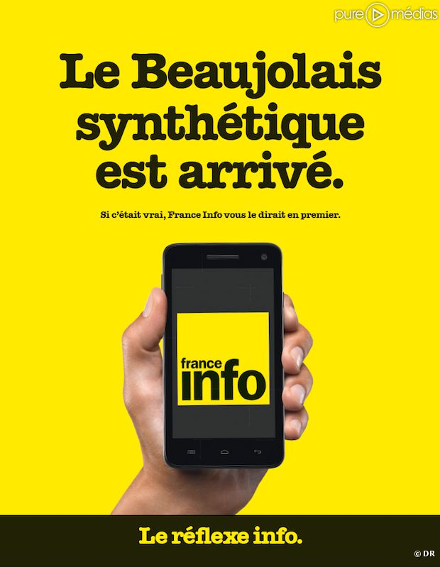La campagne de rentrée de France Info