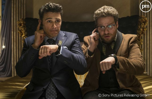 "<p>James Franco et Seth Rogen dans ""L'Interview qui tue !""</p>"