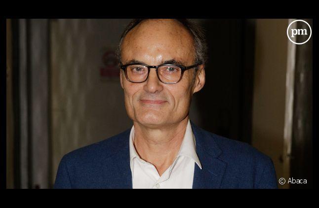 """Philippe Val, ex-patron de """"Charlie hebdo""""."""
