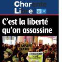 """Une de la """"Charente Libre"""" qui a également changé de nom"""
