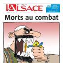 """Une de """"L'Alsace"""""""