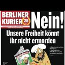 """Une du """"Berliner Kurier"""""""