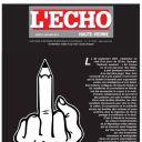 """Une de """"L'Echo"""""""