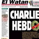 "Une de ""El Watan"", un journal algérien"