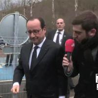 François Hollande préfère regarder