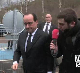 François Hollande préfère 'Le Petit Journal' à Fox News.