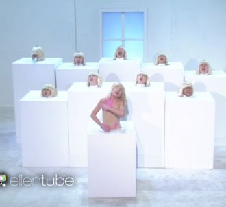 Sia chante 'Elastic Heart' chez Ellen DeGeneres