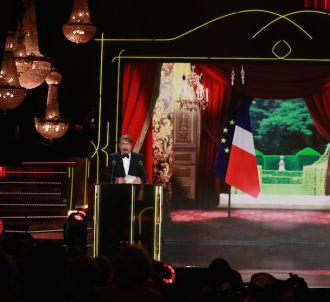 François Morel et Nicolas Bedos lors de la 27ème Nuit des...