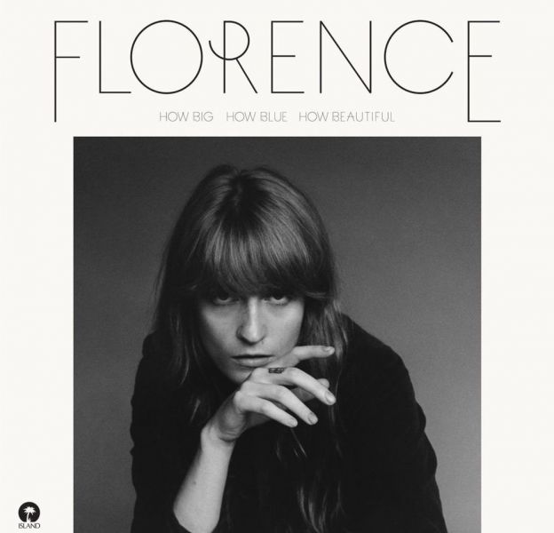 """1. Florence + the Machine - """"How Big, How Blue, How Beautiful"""""""