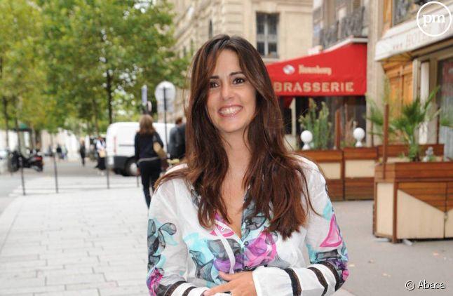 Caroline Munoz à Paris en 2010. Photo by Nicolas Briquet/ABACAPRESS.COM