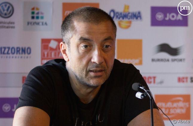Mourad Boudjellal, président du Rugby Club Toulonnais
