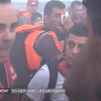 Migrants : Le 20 Heures de France 2 fait la traversée entre la Turquie et la Grèce
