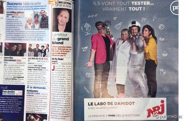 """""""Le Labo de Damidot"""" annoncé par erreur"""