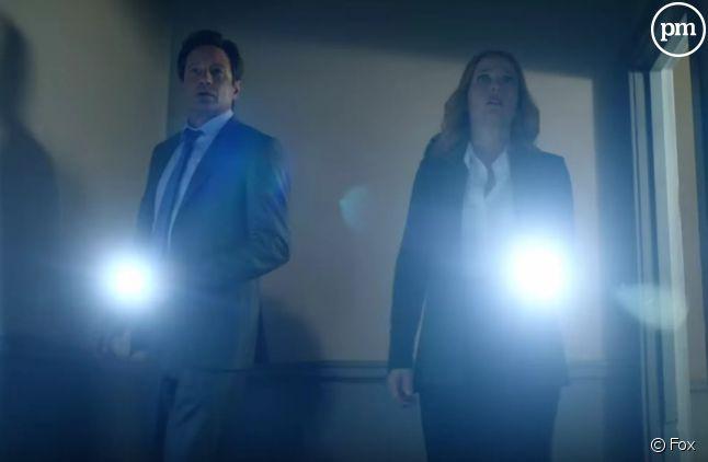 """David Duchovny et Gillian Anderson dans la suite de """"X-Files"""""""