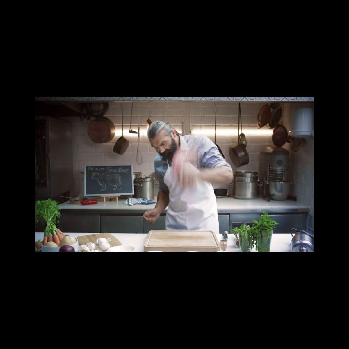 pub s bastien chabal donne ses conseils pour cuisiner le rosbif puremedias. Black Bedroom Furniture Sets. Home Design Ideas