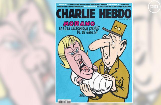 """La Une de """"Charlie Hebdo"""" du 7 octobre 2015."""