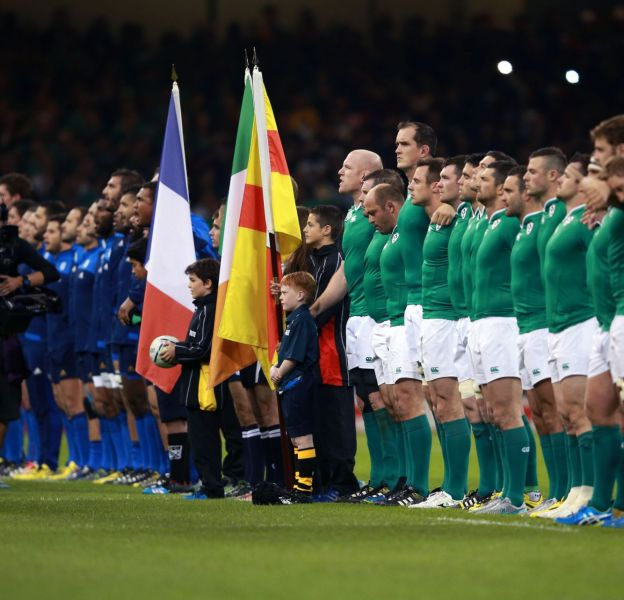 France/Irlande, le 11 octobre 2015 sur TF1.