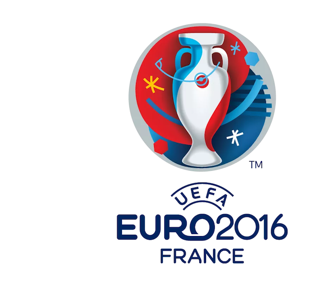 Le logo de l'Euro 2016 de football