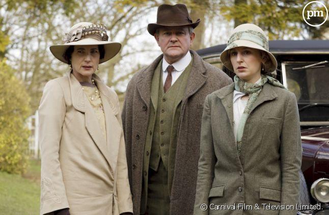 """""""Downton Abbey"""" s'est achevée sur TMC"""
