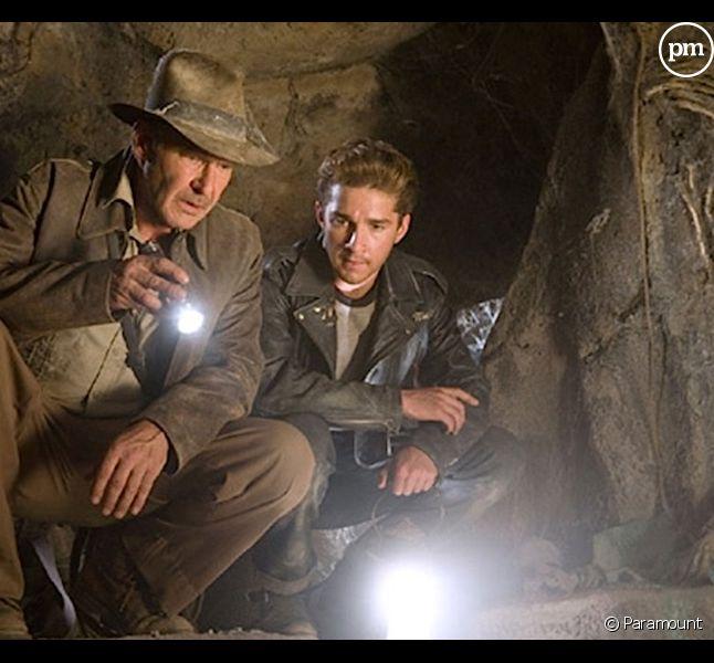 """Harrison Ford et Shia LaBeouf dans le quatrième """"Indiana Jones"""""""