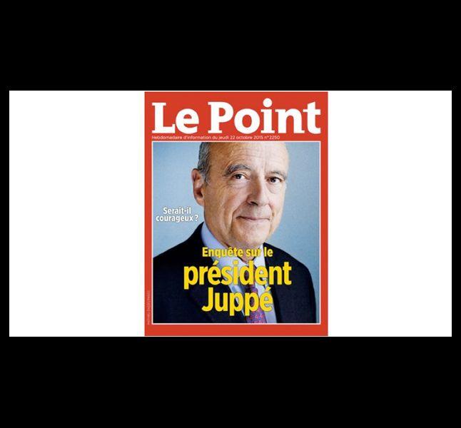 """""""Le Point"""", en octobre 2015."""